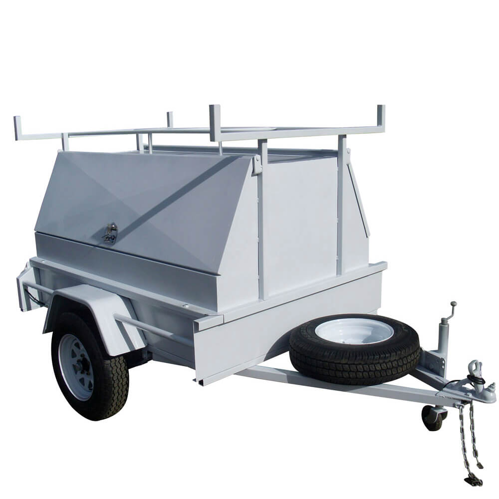 Single Axle Tradesman Top Trailer