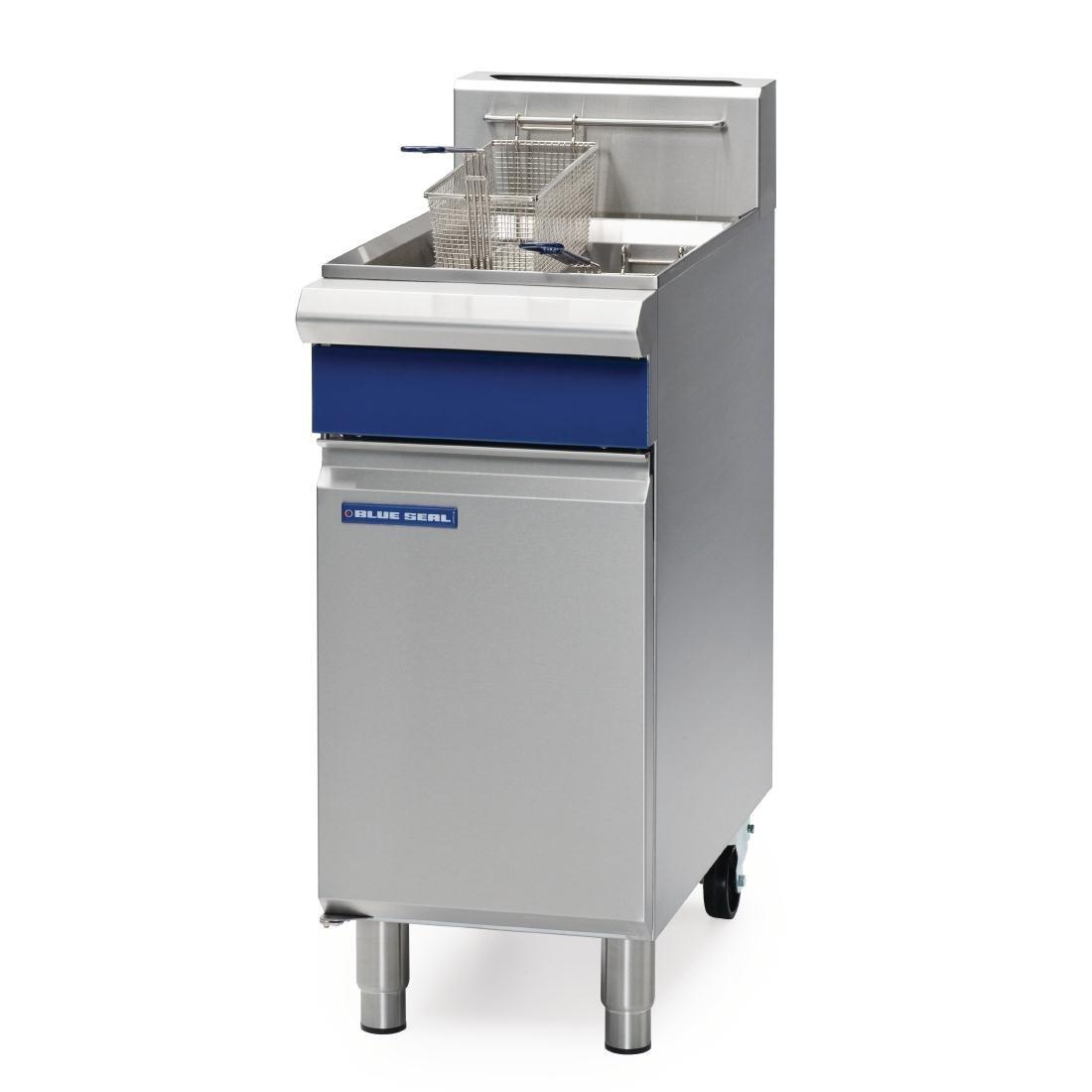 Blue Seal By Moffat Evolution Series Single Pan Propane Gas Fryer 18Ltr GT18