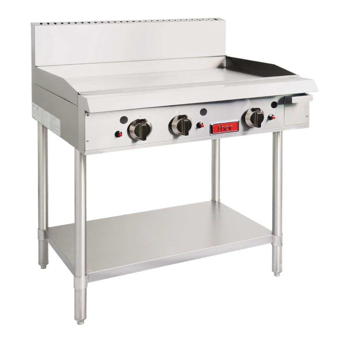 Thor Freestanding Propane Gas 3 Burner Griddle