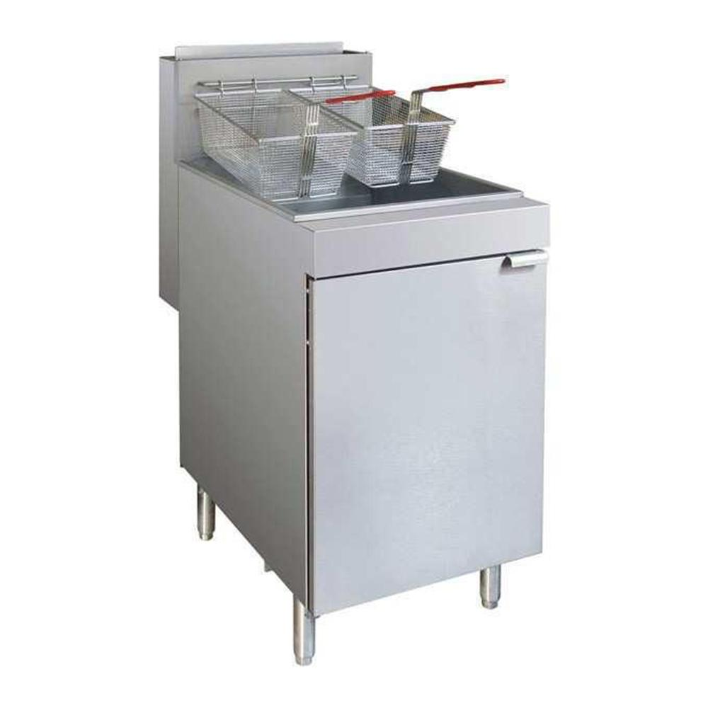 RC400LPG - Superfast LPG Gas Tube Fryer